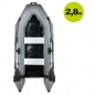 Mobile Preview: AQUAPARX Schlauchboot RIB280 PRO Grey