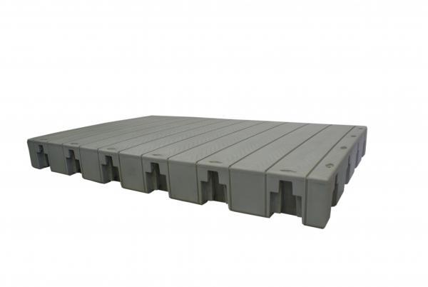 Grundmodul NP 2-F 72 kg Serie ohne Endstücke, 1550 x 2320 mm, tiefbord